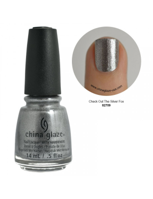 Vernis China Glaze Check out The Silver Fox