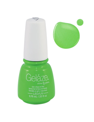 Vernis Semi-Permanent Gelaze FLUO In The Lime Light