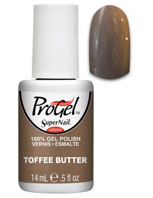 Vernis Semi-Permanent Progel Toffee Butter