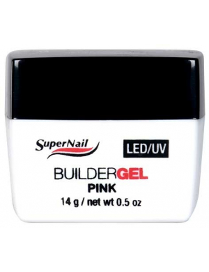 Gel UV LED de construction Rose, 14g Supernail