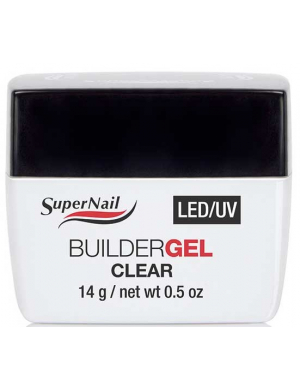 Gel UV LED de construction Transparent 14g, Supernail