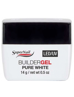 Gel UV LED de construction Ultra Blanc, 14g Supernail