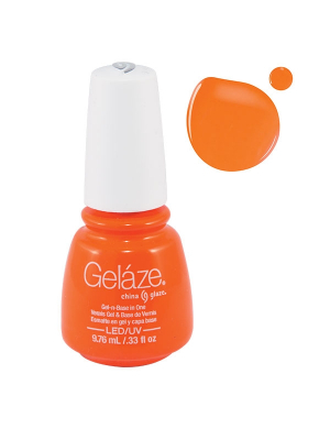 Vernis Semi-Permanent Gelaze Orange Knockout