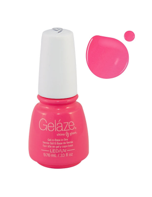 Vernis Semi-Permanent Gelaze FLUO Pink Voltage