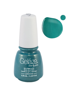 Vernis Semi-Permanent Gelaze Turned Up Turquoise