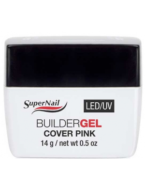 Gel UV LED de camouflage Rose, 14g Supernail