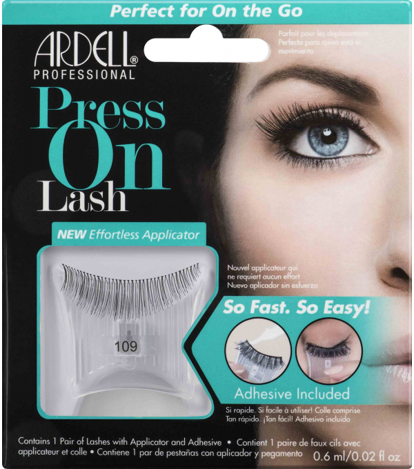 FAUX CILS ADHESIFS • PRESS ON LASH 109 Black