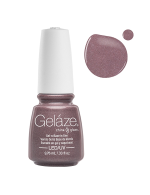 Vernis Semi-Permanent Gelaze Chrome Is Where The Heart Is