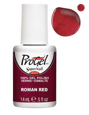 Vernis Semi-Permanent Progel Roman Red