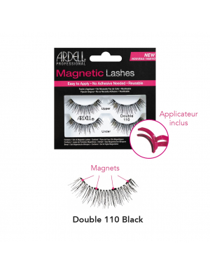 Magnetic Double 110 Black
