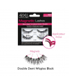 Magnetic Double Demi Wispies Black