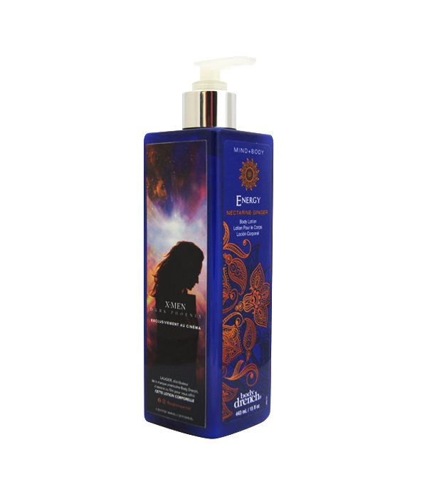Lotion corps Nectarine Gingembre Energy
