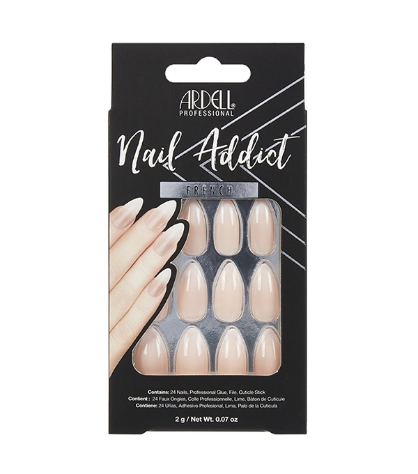 Faux-ongles Prêts à poser Ardell Nail Addict - Baby Boomer