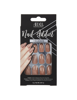 Faux-ongles Prêts à poser Ardell Nail Addict - Latte