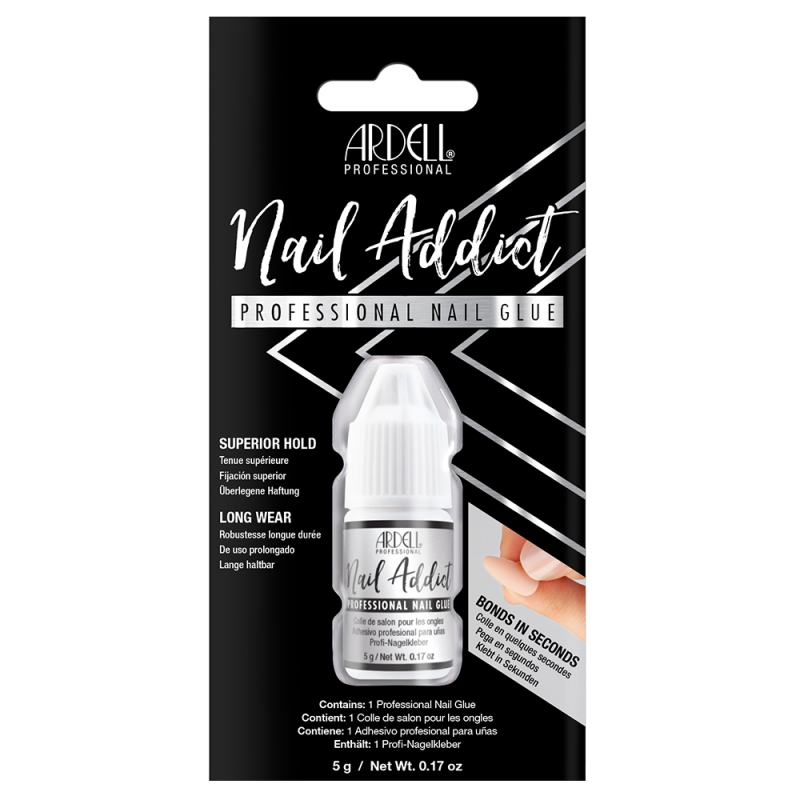 Colle Faux-ongles Prêts à poser Ardell Nail Addict