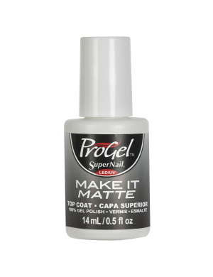 Top Coat matifiant semi-permanent ProGel